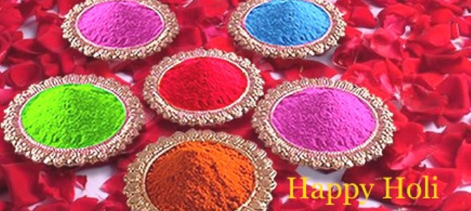 Holi Colours Gulal